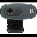 Logitech HD WEBCAM C270 3MP 1280 x 720pixels USB 2.0 Black