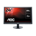 "AOC Gaming G2460FQ pantalla para PC 61 cm (24"") 1920 x 1080 Pixeles Full HD LED Plana Mate Negro"