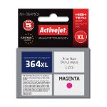 ActiveJet Replacement for HP CB324EE No. 364XL Remanufactured Inkjet Cartridge, Magenta, 12ml (AH-364MCX)