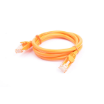 8WARE Cat 6a UTP Ethernet Cable, Snagless - 1m (100cm) Orange