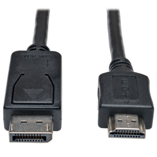 Tripp Lite DisplayPort to HDMI Adapter Cable (M/M), 1080p, 7.62 m