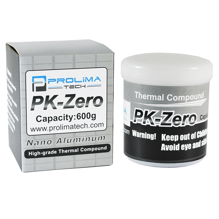Prolimatech PK-Zero heat sink compound 8 W/m·K 600 g