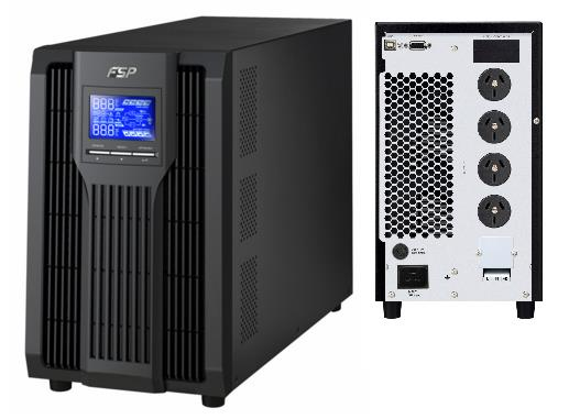 FSP/Fortron Champ 3000VA / 2700W Online UPS /Smart RS-232/USB/SNMP. Requires 15AMP Wall Socket to support large