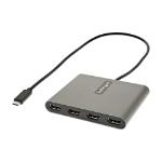 StarTech.com USBC2HD4 USB graphics adapter 1920 x 1080 pixels Gray
