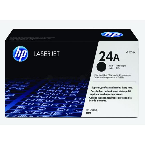 HP Q2624A (24A) Toner black, 2.5K pages