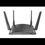 D-Link DIR-2660 draadloze router Dual-band (2.4 GHz / 5 GHz) Gigabit Ethernet Zwart
