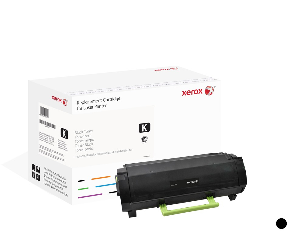 Xerox 006R03391 compatible Toner black, 20K pages (replaces Lexmark 502U)