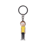 RICK AND MORTY Morty with Moveable Head Metal Keychain, Multi-colour (KE567477RMT)