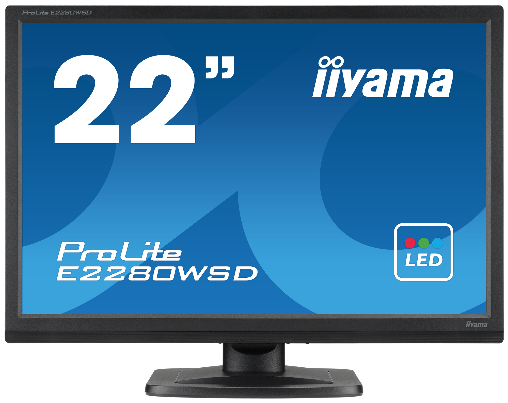 "iiyama ProLite E2280WSD-B1 22"" Black"