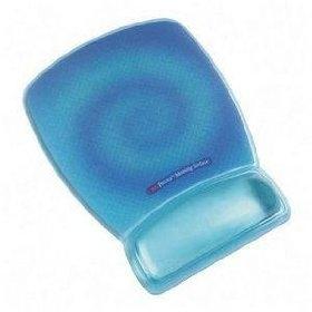 Precise Mousing Surface W/ Gel Wristrest - Blue Swirl
