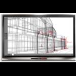 "Smart Board 6065 Pro 64.5"" 3840 x 2160pixels Multi-touch Multi-user Black touch screen monitor"