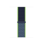 Apple MXMP2ZM/A smartwatch accessory Band Blau, Limette Nylon