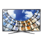 "Samsung UE43M5520AK 43"" Full HD Smart TV Wi-Fi Titanium LED TV"