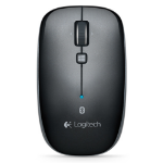 Logitech M557 Bluetooth Optical 1000DPI Ambidextrous Grey mice