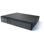 Cisco 867VAE Secure - Router - DSL modem - 5-port switch - GigE - WAN ports: 2 - rack-mountable