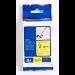 Brother TZe-FX621 cinta para impresora de etiquetas Negro sobre amarillo