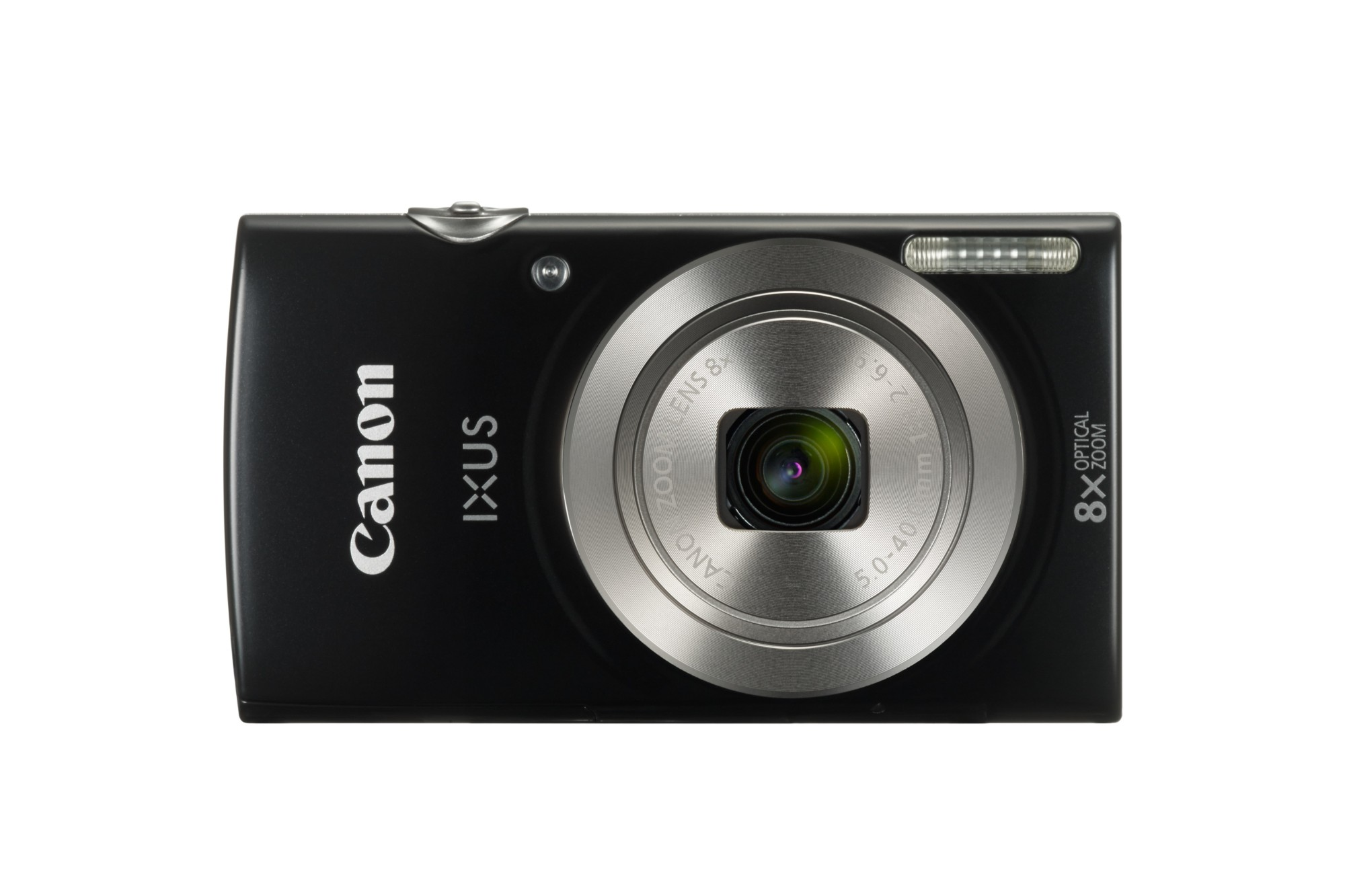 "Canon Digital IXUS 185 Compact camera 20MP 1/2.3"" CCD 5152 x 3864pixels Black"