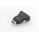 Digitus DB-320500-000-S cable gender changer DVI(18+1) HDMI type A Black