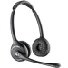 Plantronics CS520/A Binaural Head-band Black headset 84692-02