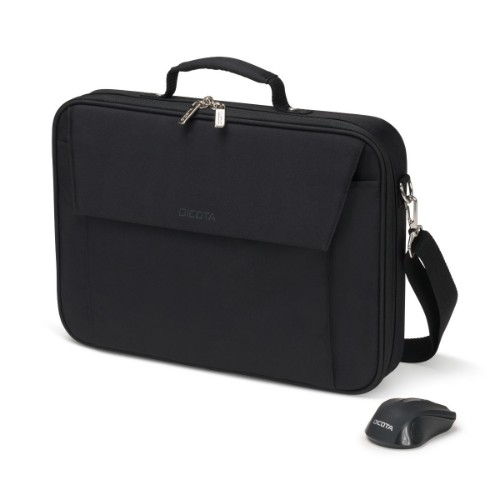 "Dicota D31686 notebook case 39.6 cm (15.6"") Briefcase Black"