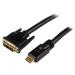 StarTech.com Cable HDMI a DVI 15m - DVI-D Macho - HDMI Macho - Adaptador - Negro