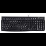 Logitech K120 keyboard USB QWERTZ Czech Black