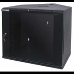 Intellinet 714730 rack 60 kg Wall mounted rack 9U Black