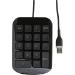Targus AKP10EU Numeric Keypad - Keypad - USB - grey, black
