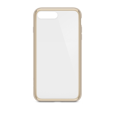"Belkin SheerForce mobile phone case 14 cm (5.5"") Cover Gold,Translucent"