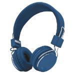 Trust Ziva Auriculares Diadema Azul, Cromo