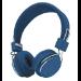 Trust Ziva Diadema Binaural Alámbrico Azul, Cromo auriculares para móvil
