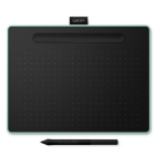Wacom Intuos M Bluetooth 2540lpi 216 x 135mm USB/Bluetooth Black, Green graphic tablet CTL-6100WLE-N