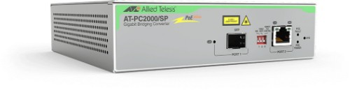 Allied Telesis AT-PC2000/SP 1000Mbit/s 850nm Grey network media converter