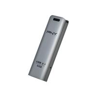 PNY FD64GESTEEL31G-EF USB flash drive 64 GB 3.1 (3.1 Gen 1) Stainless steel