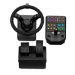 Logitech 945-000007 gaming controller Steering wheel + Pedals PC Analogue / Digital USB Black