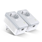 TP-LINK TL-PA4010PKIT PowerLine network adapter 600 Mbit/s Ethernet LAN White 2 pc(s)