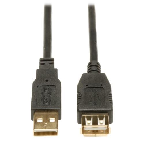 Tripp Lite USB 2.0 Hi-Speed Extension Cable (A M/F), 1.83 m (6-ft.)