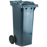 VFM 2 Wheel Grey Refuse Container 240 Litre 331183