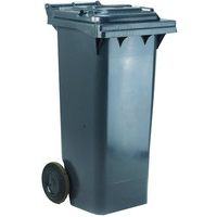 VFM REFUSE CONTAINER 240L 2 WHEEL GREYEY