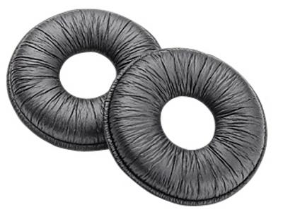 Plantronics 80355-25 headphone pillow Black Leatherette 25 pc(s)