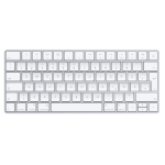 Apple Magic Keyboard Bluetooth QWERTZ German Silver,White keyboard
