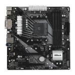 Asrock B450M Pro4-F AMD Socket AM4 Micro ATX VGA/DVI-D/HDMI DDR4 USB C 3.1 Motherboard