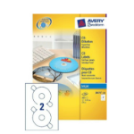 Avery J8676-100 storage media label CD/DVD Self-adhesive label 200 pc(s)