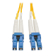 Tripp Lite N370-05M 5m 2x LC 2x LC OFNR Yellow, Blue fiber optic cable