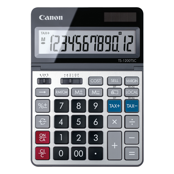 Canon TS-1200TSC calculator Desktop Basic Metallic