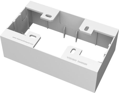 Vision TC3 BACKBOX2G electrical box White