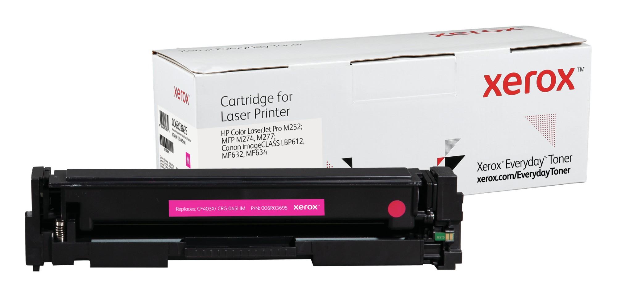Xerox Tóner de Alto rendimiento Magenta Everyday, HP CF403X/ CRG-045HM equivalente de , 2300 páginas