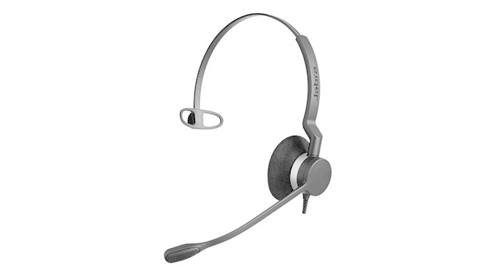 Jabra BIZ 2300 QD MONO Monaural Head-band Black headset