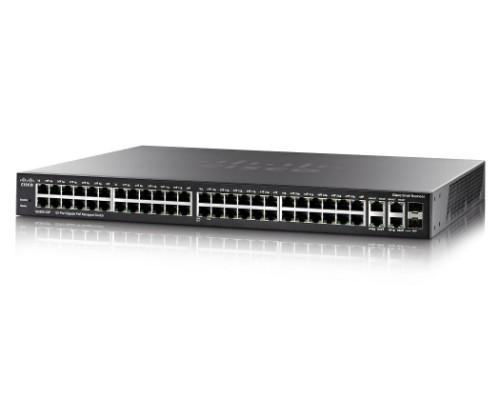 Cisco SG300-52P Managed L3 Black Power over Ethernet (PoE)