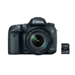 Canon EOS 7D Mark II EF-S 18-135mm IS USM + W-E1 SLR Camera Kit 20.2 MP CMOS 5472 x 3648 pixels Black